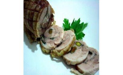 куриный рулет (rotolo di pollo), пошагово, с фото