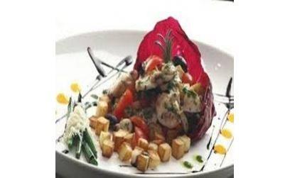 Теплий салат з восьминогом