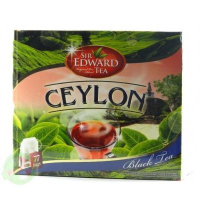 В пакетиках Sir edward tea CEYLON 77 шт