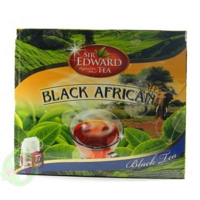 В пакетиках Sir edward tea BLACK AFRICAN 77 шт