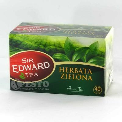 В пакетиках Сер Едвард зелений 40 шт