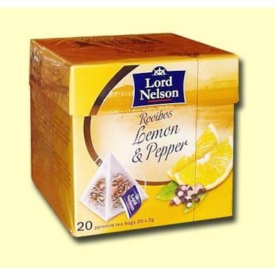 В пірамідках Lord Nelson лимон і запашний перець 20 шт