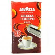 Кава Lavazza Crema e Gusto, Gusto Ricco 250г