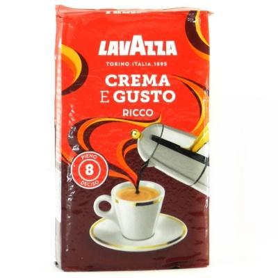 Кава мелена Lavazza Crema e Gusto Ricco 250г