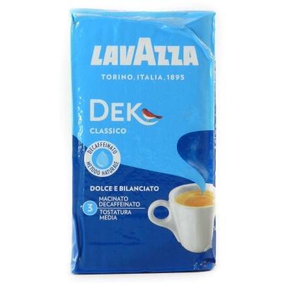 Кава мелена Lavazza Decaffeinato без кофеїну 250г