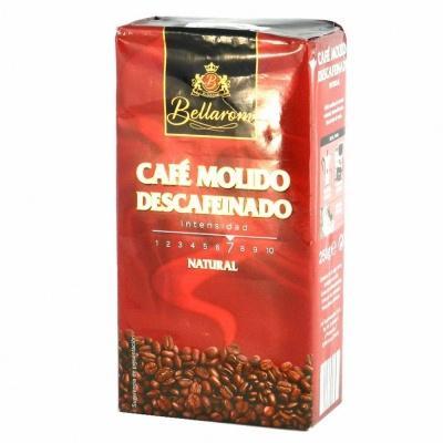 Мелена кава Bellarom Decaffeinato без кофеїну 250 г