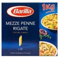 Barilla Mezze Penne Rigate n.70 1 кг