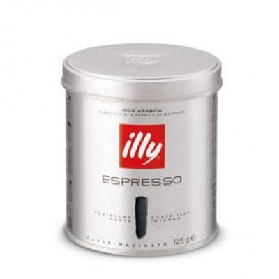 Мелена кава Illy espresso tostatura forte 125 г