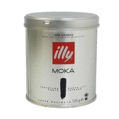 Мелена кава Illy moka tostatura forte 125 г