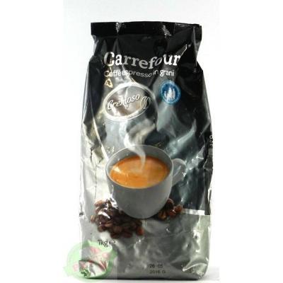 Кава в зернах Carrefour cremoso 1 кг