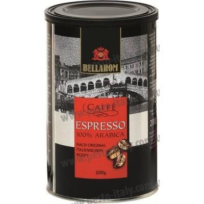 Мелена кава Espresso Bellarom 100% арабіка 200 г (ж/б)