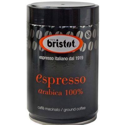 Мелена кава Bristot Espresso Kaffee 100% Arabica 250 г