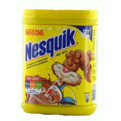 Шоколадний напій Nestle nesquik plus vitamine ferro 0.600 кг