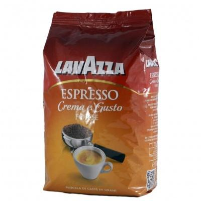 Кава в зернах Lavazza Espreso crema e gusto forte 1 кг