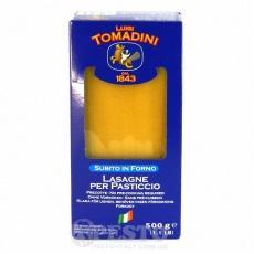 Макарони Tomadini lasagne 0,5кг