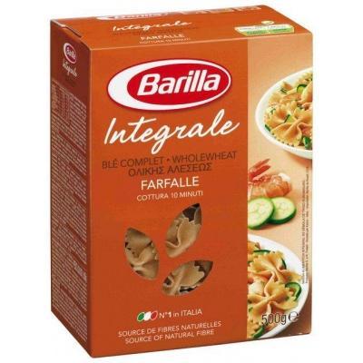 З житньої муки Barilla Pasta Farfalle Integral 0.5 кг
