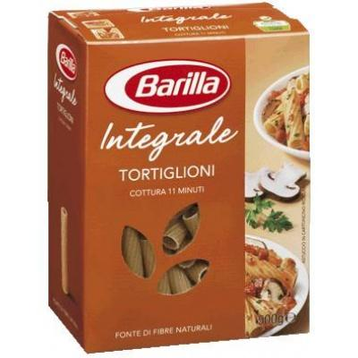 З житньої муки Barilla Integrale Tortiglioni 0.5 кг