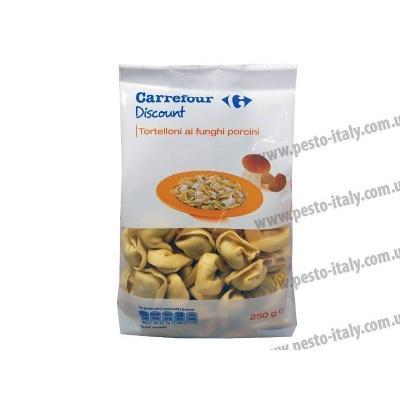 Тортелліні Carrefour з грибами 250 г