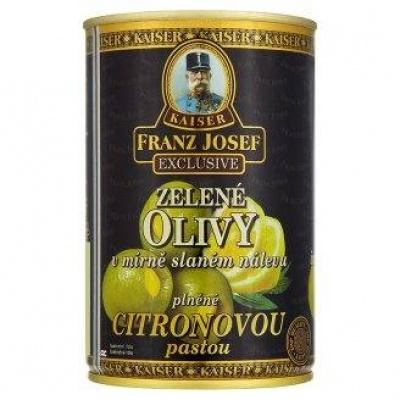 Фаршировані Kaiser Franz Josef Exclusive зелені citronovou pastou 300 г