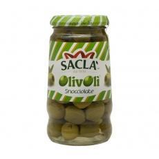 Sacla Olive Sacla Snocciolate без кісточки в росолі 290 мл