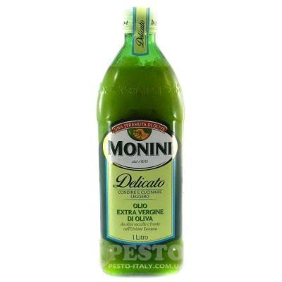 Оливкова Monini Delicato extra vergine 1 л