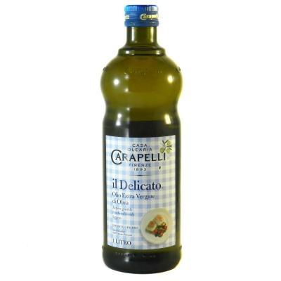 Олія оливкова Carapelli Delicato extra vergine 1л
