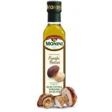 Оливкова олія Monini extra vergine з білими грибами 250мл