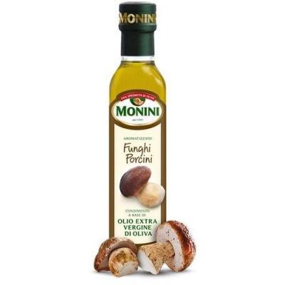 Оливкова Monini extra vergine з білими грибами 250 мл
