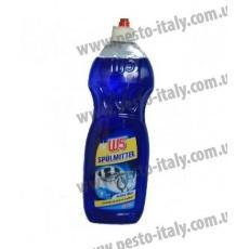 Средство для мытья посуды W5 синий 1л