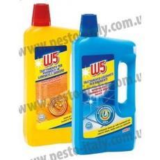 Засіб для миття підлоги W5 сила блакиті 1л