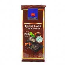 Шоколоад Bellarom чорний 74% какао 100г