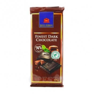 Шоколад Bellarom чорний 74% какао 100 г