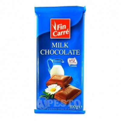 Шоколад Fin Carre молочний 100г