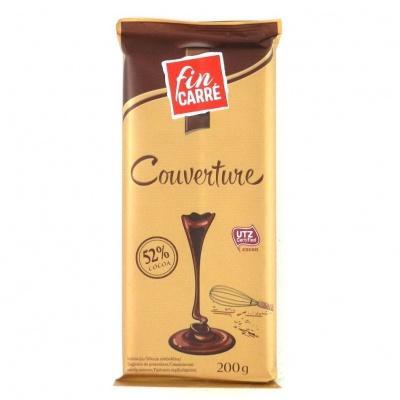 Шоколад Fin Carre для випічки 52% какао 200 г