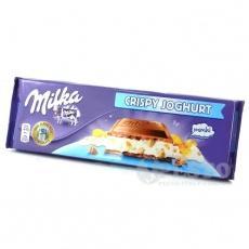 Milka з йогуртом та пластівцями 300 г