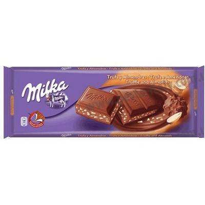 Шоколад Milka з трюфелями і мигдалем 300 г