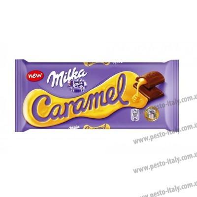 Шоколад milka карамель new 300 г