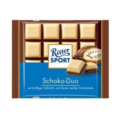 Шоколад Ritter sport Schoko-Duo 100 г