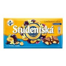 Studentska milk chocolate with blueberry 180 г