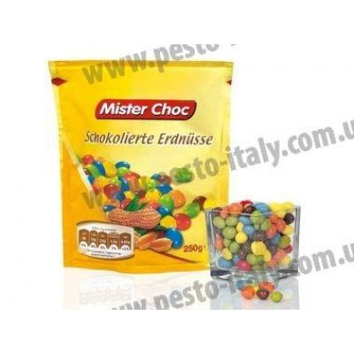 Драже Mister Choc арахіс в шоколаді 150 г
