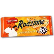 Вафлі Tastino-Rodzinne-o-smaku-smietankow 180г
