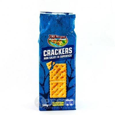 Крекер Tre Mulini Crackers не солений 0.550 кг