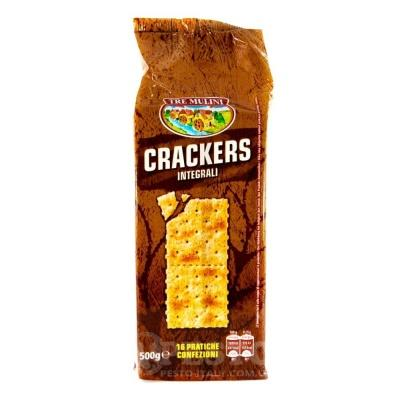 Крекер Tre Mulini Crackers житній 0.5 кг