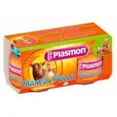 Пюре Plasmon яловичина і курка від 6міс. без глютену 80г