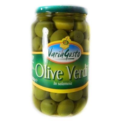 Зелені Varia Gusto Olive Verdi з кісточкою 0.565 кг