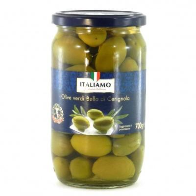 Зелені Italiamo Olive verdi Bella di Cerignola 0.7 кг
