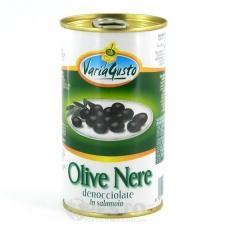 Varia Gusto Olive Nere Denocciolate in salamoia 350 г
