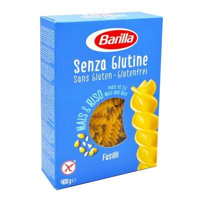 Біологічно чисті та безглютенові Barilla Senza Glutine Fusilli 400 г