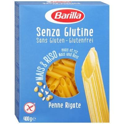 Біологічно чисті та безглютенові Barilla Senza Glutine Penne Rigate 400 г