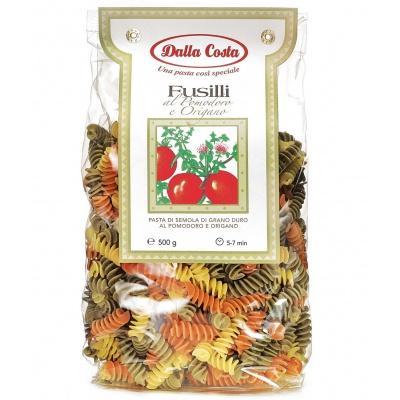 Кольорові Dalla Costa Fusilli в трьох кольорах 0.5 кг